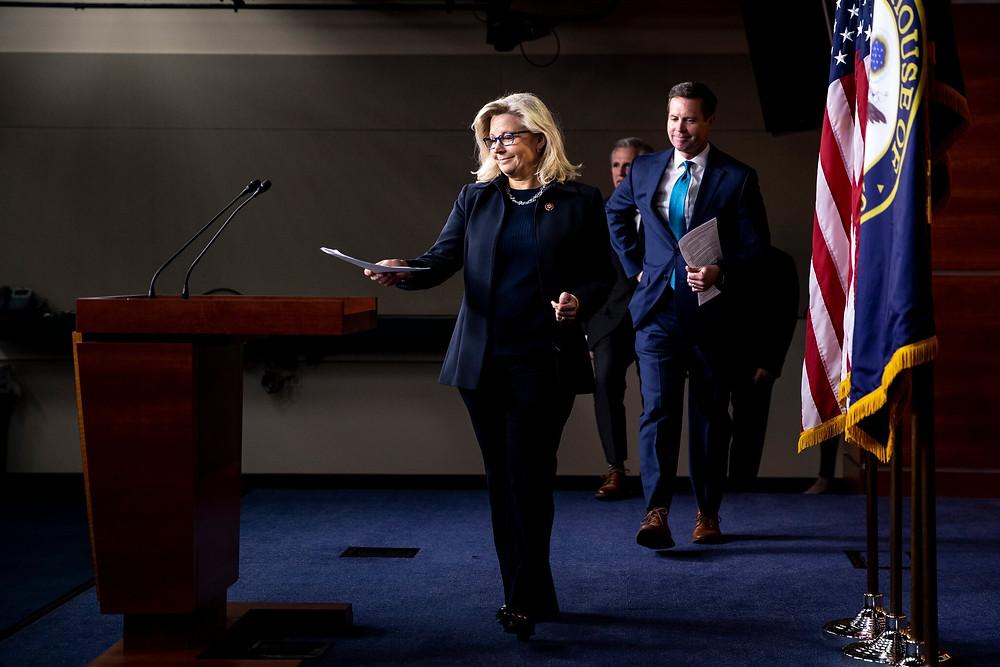 Elizabeth Cheney supporting Trump's impeachment