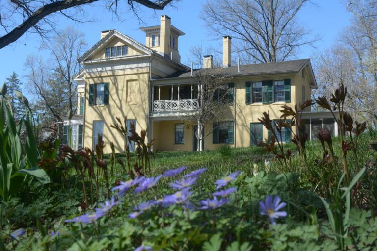 Emily Dickinson's House and Garden