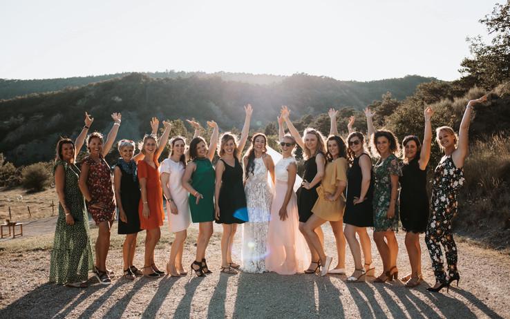 mariage-haut-de-gamme-témoins-demoiselle