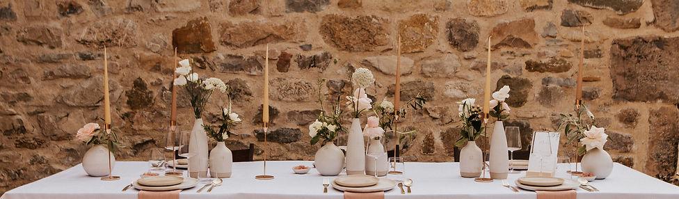 Scène de Mariage décoration