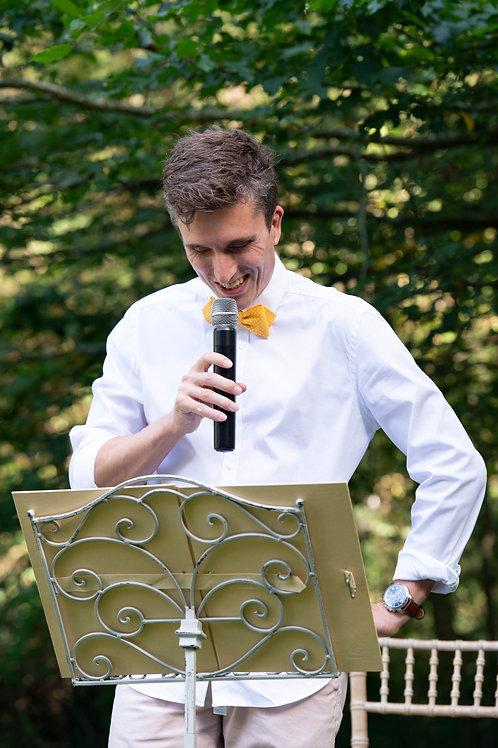Officiant de cérémonie