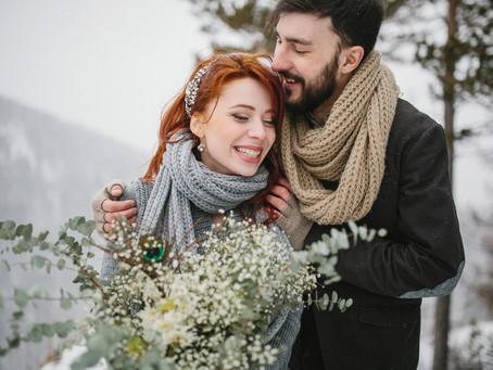 Comment réussir un mariage en hiver ?