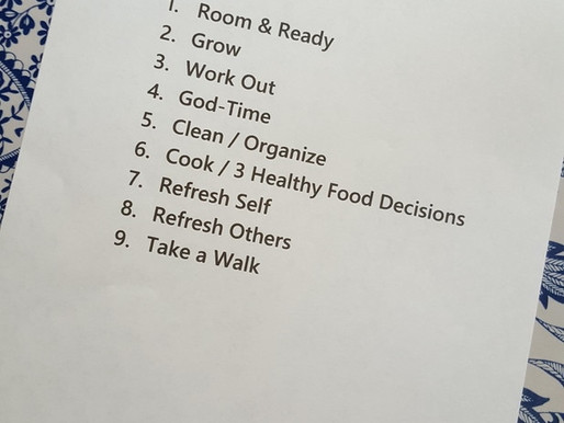 Daily Disciplines for spirit + soul + body!