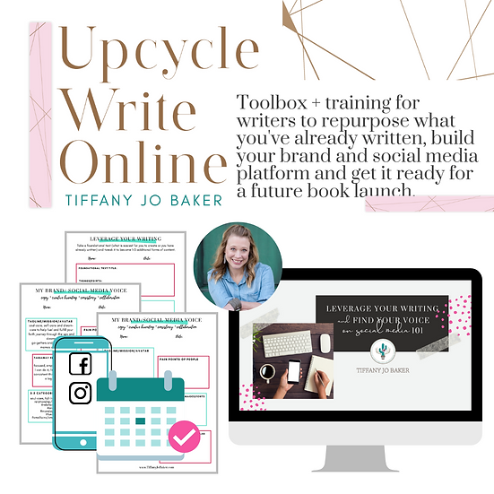 Upcycle Write Online Toolbox + Training