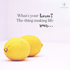 What's Your Lemon? The Thing Making Life Sour…