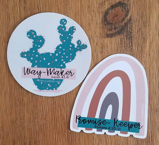 Way-Maker + Promise-Keeper Magnets