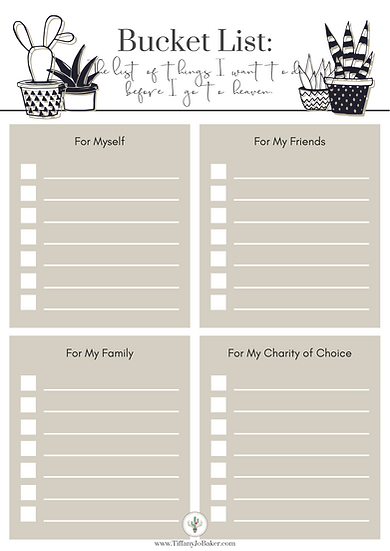 Before Heaven Bucket List (Free w/ Code: Free)