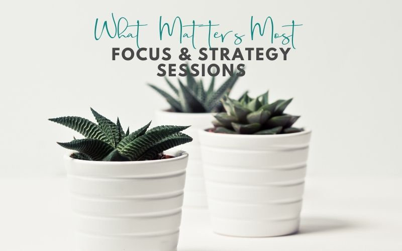 Focus & Strategy Session