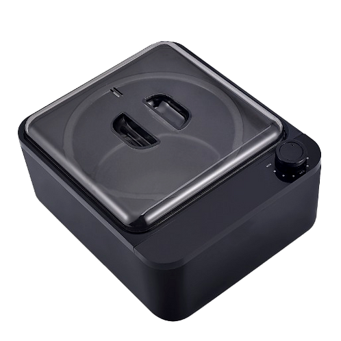 Non-Stick Wax Heater in Black