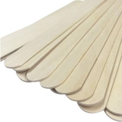 """8"""" Wooden Wax Spatulas"""