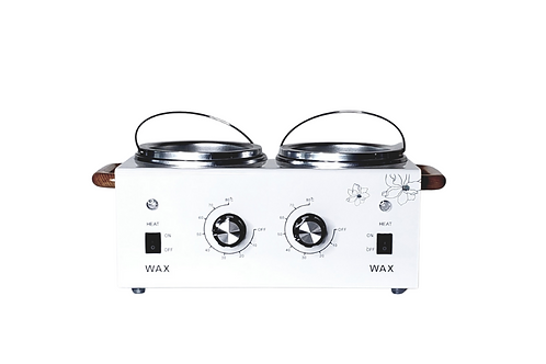 Double White Professional Wax Warmer, 14 Oz x 2 (For Hard and Soft)