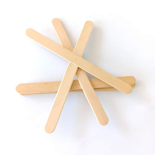 """6"""" Wooden  Spatulas"""