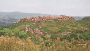 イタリア風景画をアップしました