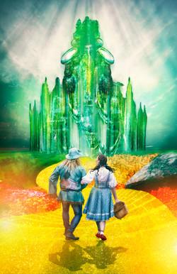 ciudad esmeralda fondo con personajes final
