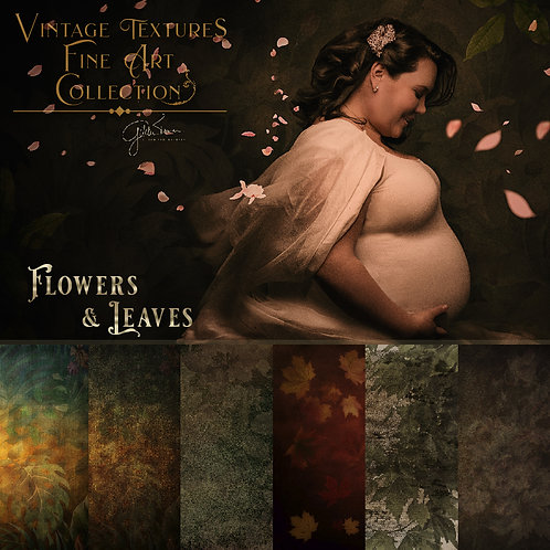 Flowers & Leaves Textures By Gilda Tenorio