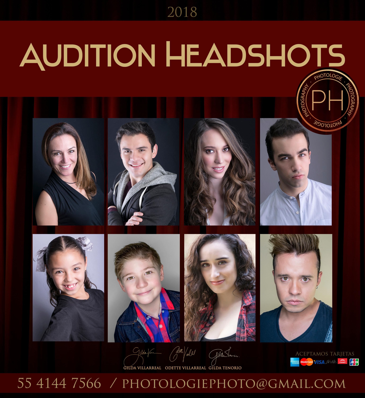 Audition Hedshots