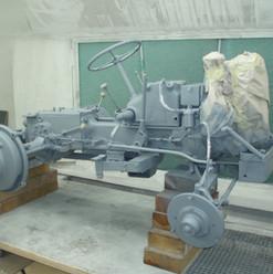 Lackierarbeiten Farhzeugteile, Traktorteile lackieren, grau, Maler Zieri - Beckenried Nidwalden