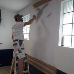 Lackierarbeiten Innenbereich, Wandmalerei, Bern Zieri, Maler Zieri - Beckenried Nidwalden