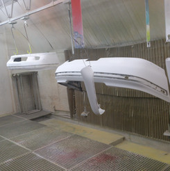 Lackierarbeiten Fahrzeugteile, Autoteile lackieren, weiss, Maler Zieri - Beckenried Nidwalden