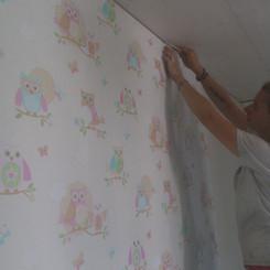 Tapezierarbeiten Innebereich, Kinderzimmer, Maler Zieri - Beckenried Nidwalden