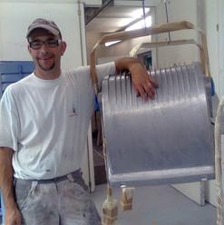 Lackierarbeiten Industrie, silber, Maler Zieri - Beckenried Nidwalden