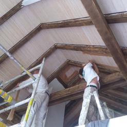 Malerarbeiten Innenbereich, Decke, Holz, Maler Zieri - Beckenried Nidwalden