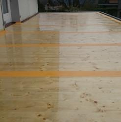 Malerarbeiten Aussenbereich, Bodenbeschichtung Balkon, Holz, Maler Zieri - Beckenried Nidwalden