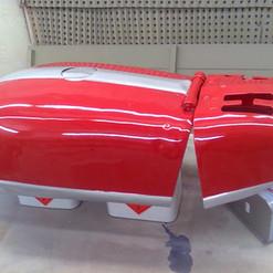 lackierarbeiten Fahrzeugteile, rot, Maler Zieri - Beckenried Nidwalden