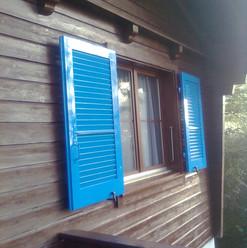 Malerarbeiten Aussebereich, Fassade, Fensterläden, Holz, Maler Zieri - Beckenried Nidwalden