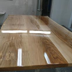 Lackierarbeiten Möbel, Tischplatte, Naturlack, Maler Zieri - Beckenried Nidwalden