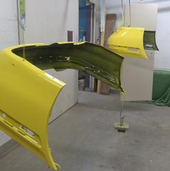 Lackierarbeiten Fahrzeugteile, Autoteile lackieren, gelb, Maler Zieri - Beckenried Nidwalden