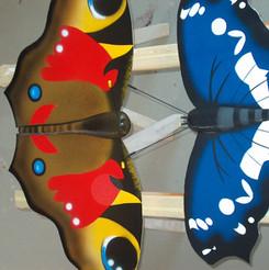 Lackierarbeiten Dekoration, Holzfiguren lackiert farbig, Maler Zieri - Beckenried Nidwalden