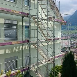 Malerarbeiten Aussenbereich, Fassade, Maler Zieri - Beckenried Nidwalden