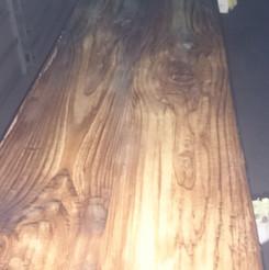 Lackierarbeiten Möbel, Fluoreszenz, Tischplatte lackiert, Maler Zieri - Beckenried Nidwalden