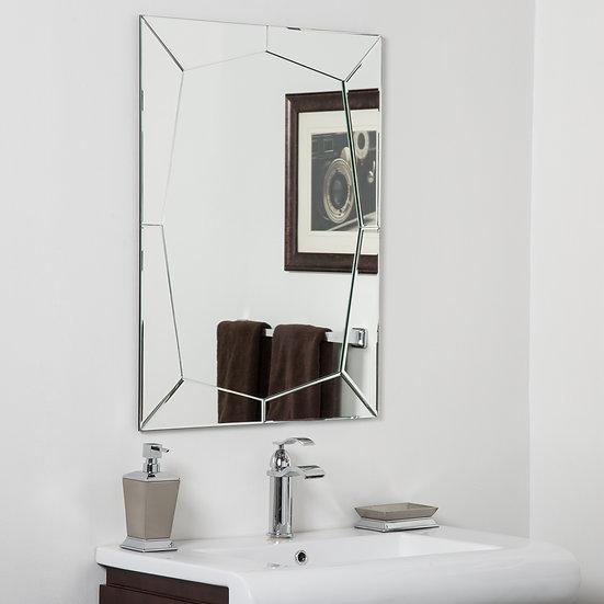 Carstadt Modern Bathroom Mirror