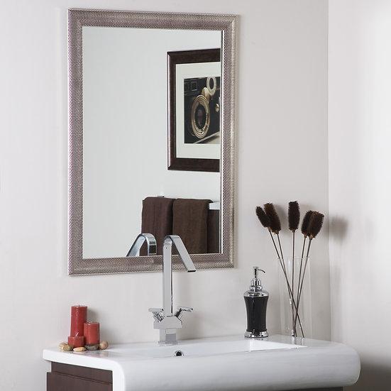 Modern Silver Mirror