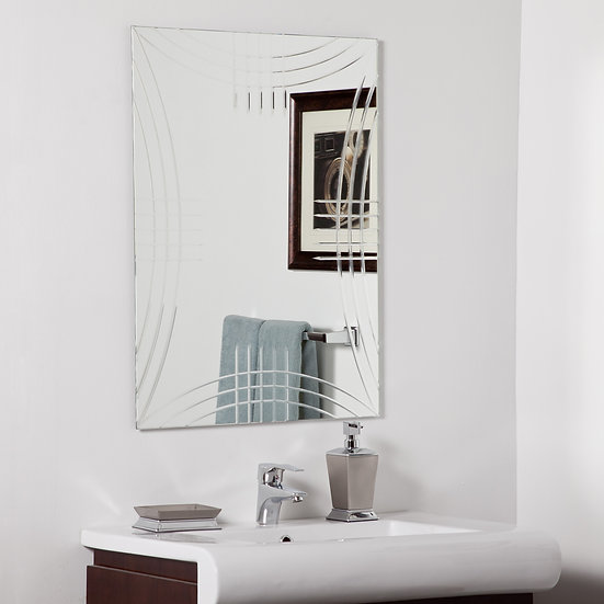 Caydon Modern bathroom mirror