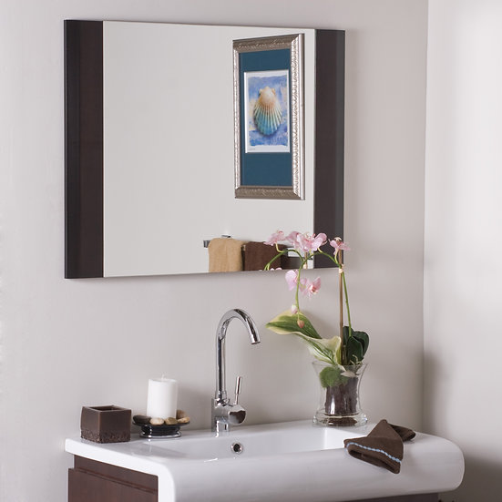 Expresso Wood Wall Mirror