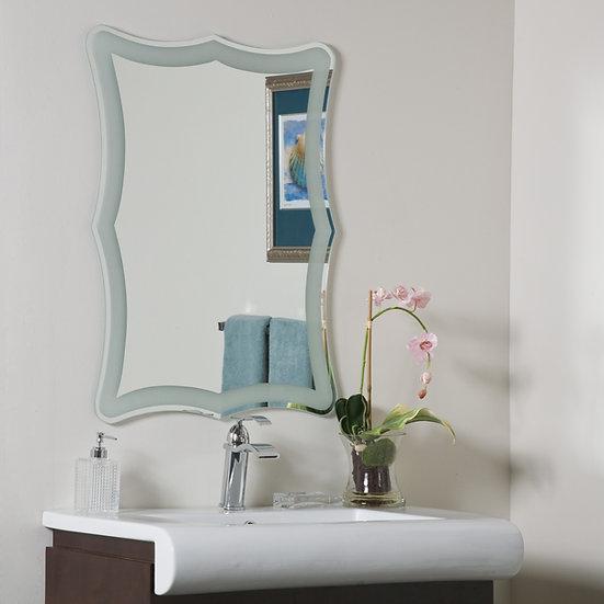 Coquette Frameless Bathroom Mirror