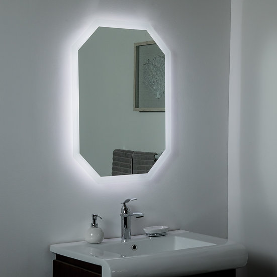 Margot LED Bathroom Mirror 23.6 x 31.5in. Vanity Mirror