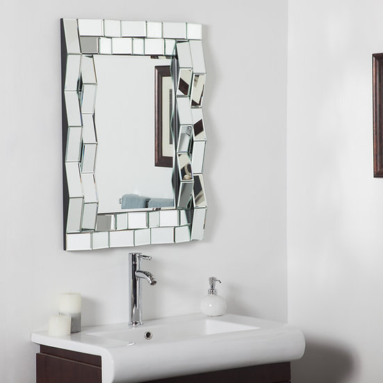 Iso Modern Bathroom Mirror 31.5Hx23.6Wx2D