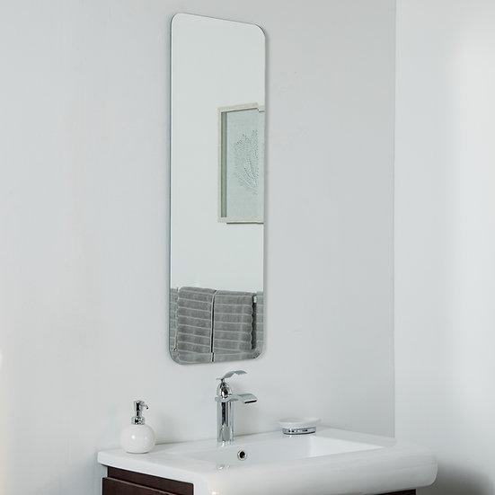 Shelly Long Frameless Mirror 39.5 x 13.75in Wall Mirror