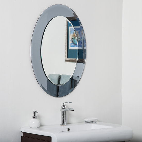 Cayman Modern Bathroom Mirror 31.5Hx23.6Wx.5D