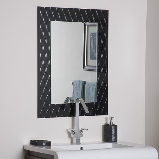 Strands Modern Bathroom Mirror