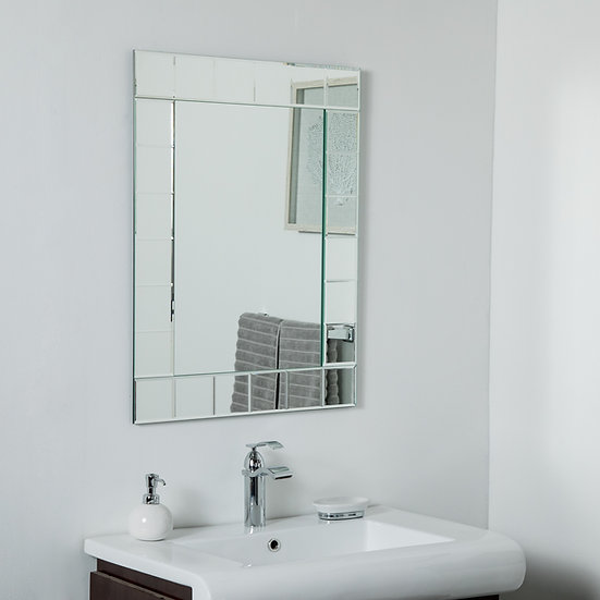 Lalo Large Frameless Mirror 31.5 x 23.6in Wall Mirror