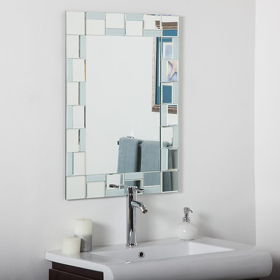 Quebec modern bathroom mirror