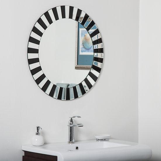 Tiara Modern Bathroom Mirror 27.5Hx27.5Wx.5D
