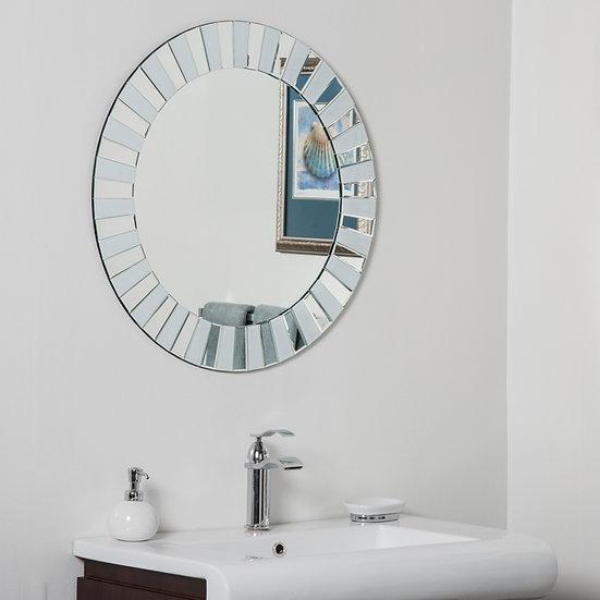 Kiara Modern Bathroom Mirror 27.5Hx27.5Wx.5D