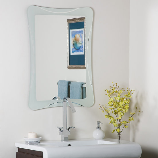 Frameless Shapes Mirror
