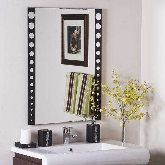 Santa Clara Frameless Wall Mirror